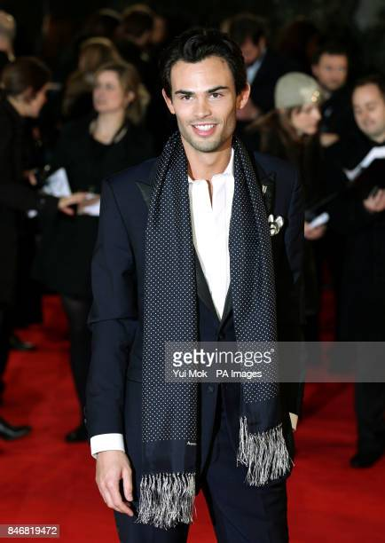 Mark Francis Vandelli arriving for the world premiere of The Woman in Black at the Royal Festival Hall Southbank Centre in London