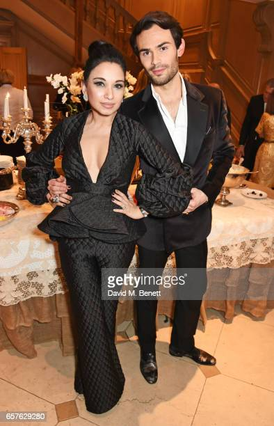 Mark Francis Vandelli attends Lisa Tchenguiz's party hosted by Fatima Maleki in Mayfair on March 24 2017 in London England