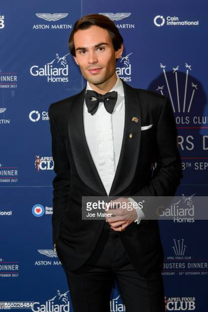 Mark Francis Vandelli attends the 75th Anniversary Dambusters dinner at Plaisterers Hall on September 28 2017 in London England