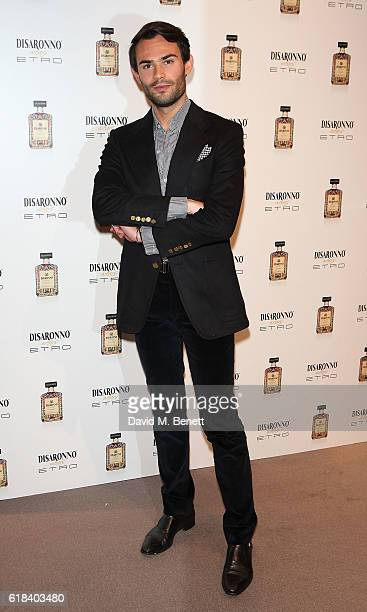 Mark Francis Vandelli attends the launch of Disaronno Wears Etro celebrating the limited edition bottle at the Etro Bond Street boutique on October...