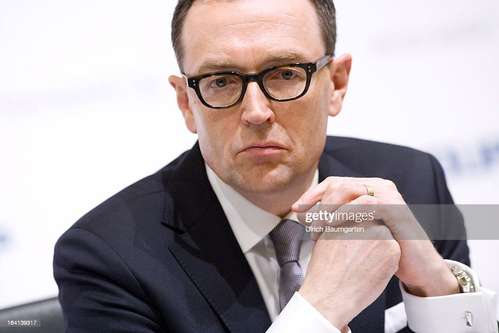 Mark Frese, financial chairman of the Metro AG, during the company's results news conference on March 20, 2013 in Duesseldorf, Germany.The German retail giant announced a drop in its profits for 2012, blaiming it on higher investment levels and operating conditions.