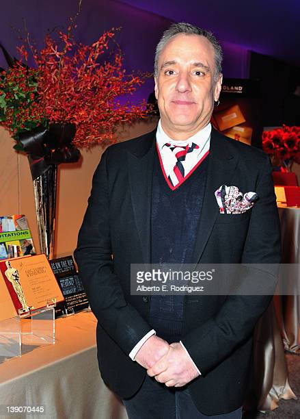 Mark Friedland of Postmark/Evitecom poses at the 84th Academy Awards Governors Ball preview in the Grand Ballroom at Hollywood Highland Center on...