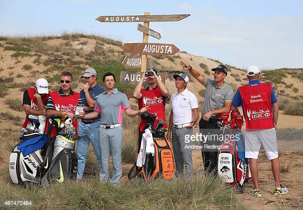 Mark Fulcher JP Fitzgerald Justin Rose of England Rory McIlroy of Northern Ireland Joe Skovron Rickie Fowler of the USA Henrik Stenson of Sweden and...