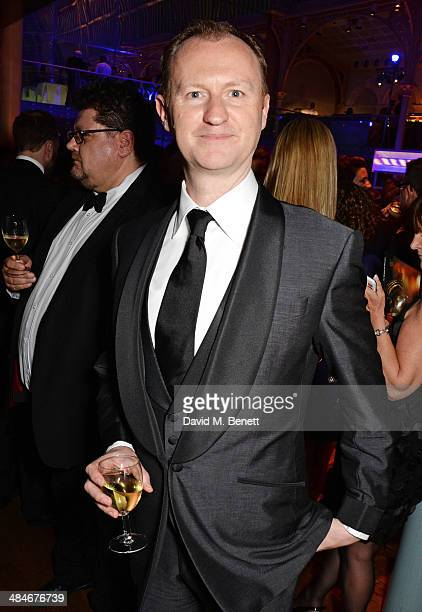 Mark Gatiss attends an after party following the Laurence Olivier Awards at The Royal Opera House on April 13 2014 in London England