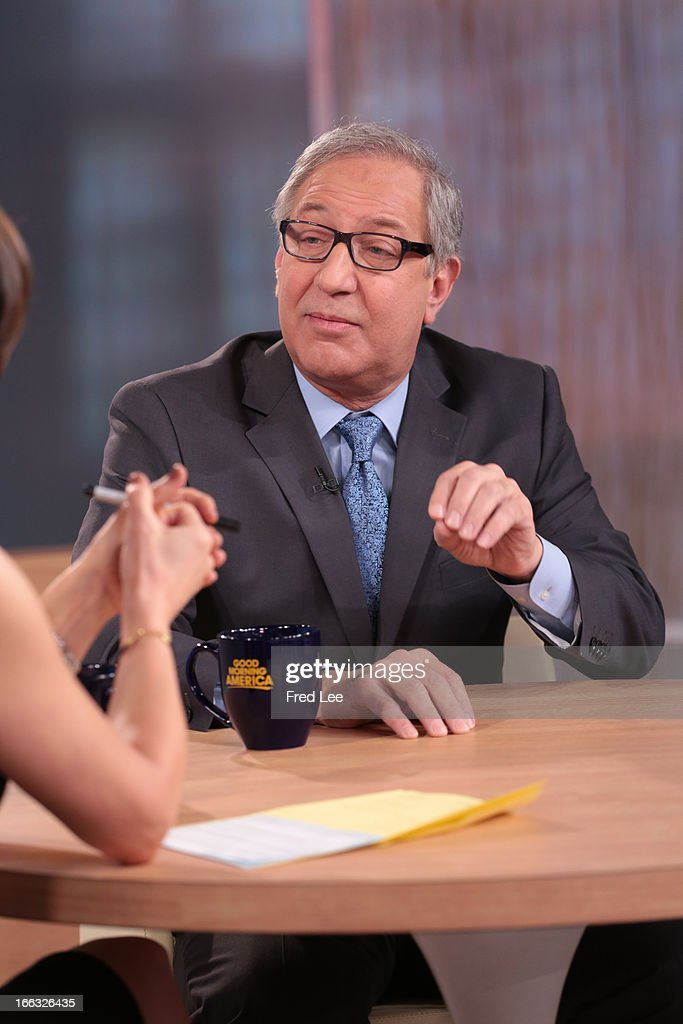 AMERICA - Mark Geragos is a guest on 'Good Morning America,' 4/10/13, airing on the ABC Television Network. (Photo by Fred Lee/ABC via Getty Images) ELIZABETH