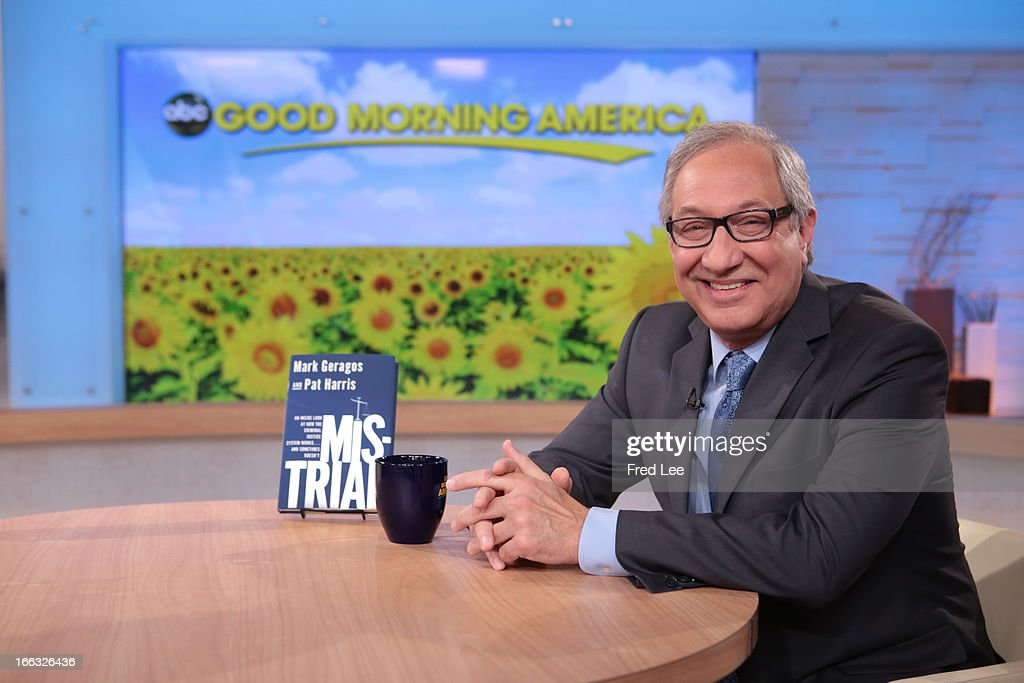 AMERICA - Mark Geragos is a guest on 'Good Morning America,' 4/10/13, airing on the ABC Television Network. (Photo by Fred Lee/ABC via Getty Images) MARK