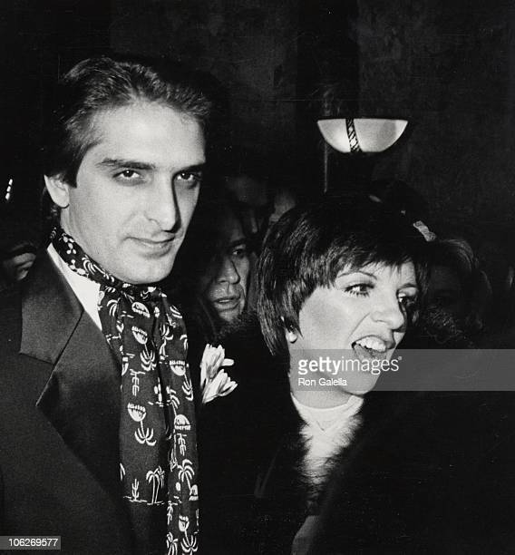 Mark Gero and Liza Minnelli during Liza Minnelli and Mark Gero Wedding December 4 1979 at St Bartholomew Church in New York City New York United...