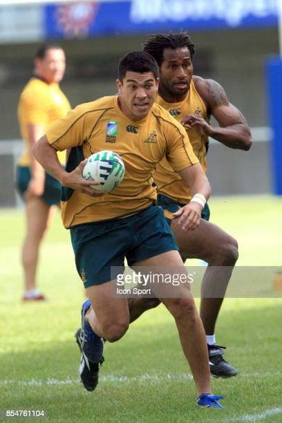Mark GERRARD 1er entrainement de l'Australie a Montpellier Stade Ovalie Yves du Manoir