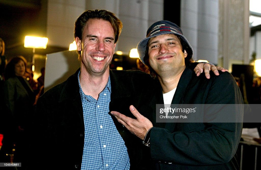 Mark Gill and Robert Rodriguez during 'Frida' Premiere - Arrivals at Los Angeles County Museum of Art in Los Angeles, CA, United States.