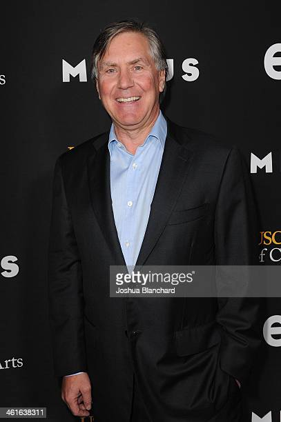 Mark Greenberg arrives at EPIX USC Host An Evening With John Milius at USC Norris Theatre on January 9 2014 in Los Angeles California