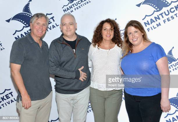 Mark Greenberg Matt Zoller Seitz Jill Burkhart and Jocelyn Diaz attend 'TV and Talk Get Shorty' during the 2017 Nantucket Film Festival Day 3 on June...