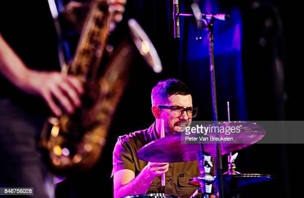 Mark Guiliana Performs at Jazz Middelheim Festival on August 03 2017 in Antwerp Belgium