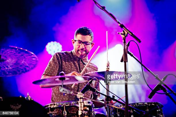 Mark Guiliana Performs at Jazz Middelheim Festival on August 04 2017 in Antwerp Belgium