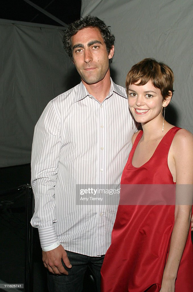 Mark Habdawey and Nora Zehetner during LACE 27th Annual Benefit Art Auction 'Flourish' at Los Angeles Contemporary Exhibition in Los Angeles...