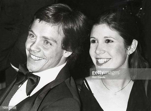 Mark Hamill and Carrie Fisher during American Film Institute 10th Anniversary at Kennedy Center in Washington DC Maryland United States