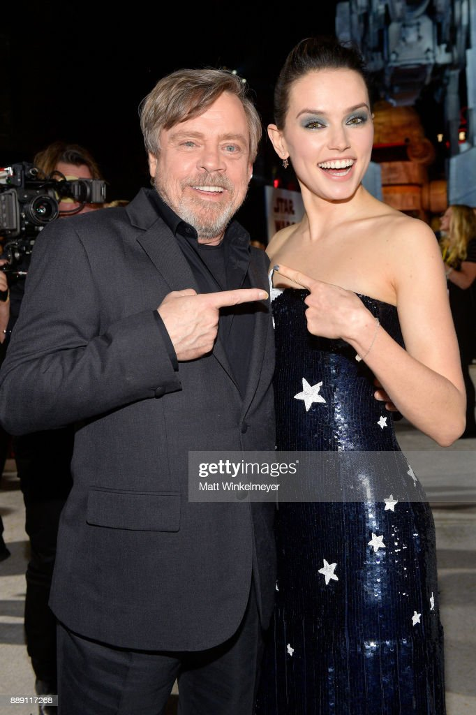 "Premiere Of Disney Pictures And Lucasfilm's ""Star Wars: The Last Jedi"" - Red Carpet"