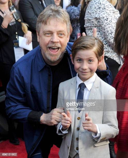 Mark Hamill and Jacob Tremblay arrive at the 2017 Los Angeles Film Festival Opening Night Premiere Of Focus Features' 'The Book Of Henry' at Arclight...