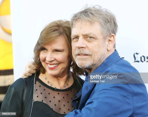 Mark Hamill and Marilou York arrive at the 2017 Los Angeles Film Festival opening night premiere of Focus Features' 'The Book Of Henry' held at...