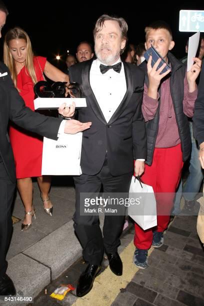 Mark Hamill attending the GQ awards on September 5 2017 in London England