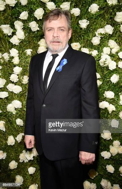 Mark Hamill attends the 2017 Tony Awards at Radio City Music Hall on June 11 2017 in New York City