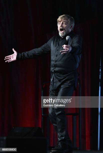 Mark Hamill attends the Star Wars Celebration day 02 on April 14 2017 in Orlando Florida