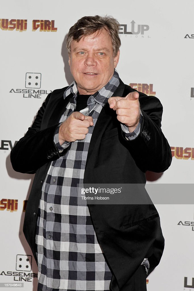 Mark Hamill attends the 'Sushi Girl' Los Angeles premiere at Grauman's Chinese Theatre on November 27, 2012 in Hollywood, California.