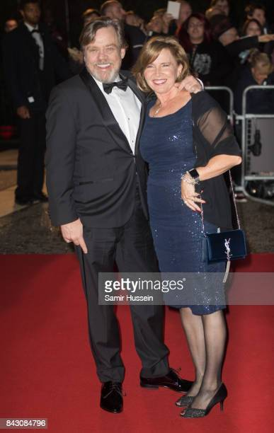 Mark Hamill Marilou York attend the GQ Men Of The Year Awards at Tate Modern on September 5 2017 in London England