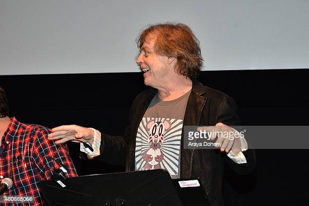 Mark Hamill performs a live reading at the Film Independent Live Read 'The Empire Strikes Back' at Ace Hotel on December 18 2014 in Los Angeles...