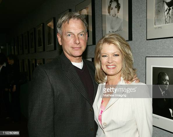 Mark Harmon and Mary Hart during CBS Paramount Network Television presents 'For Your Consideration' screening of NCIS at Leonard H Goldenson Theatre...
