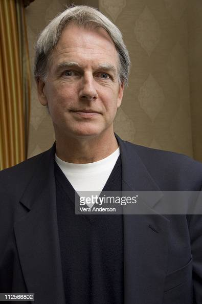 Mark Harmon at the 'NCIS' press conference at the Four Seasons Hotel on February 26 2008 in Beverly Hills California