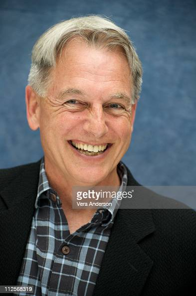 Mark Harmon at the 'NCIS' press conference at the Four Seasons Hotel on April 22 2009 in Beverly Hills California