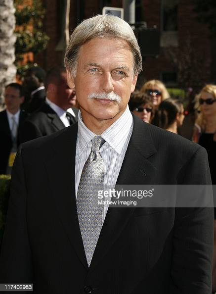 Mark Harmon during 58th Annual Creative Arts Emmy Awards Red Carpet at The Shrine Auditorium in Los Angeles California United States