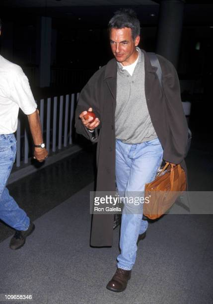 Mark Harmon during Mark Harmon Sighting at Los Angeles International Airport March 18 1997 at LAX in Los Angeles California United States