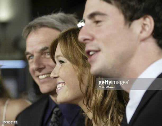 Mark Harmon Mandy Moore and Matthew Goode during 'Chasing Liberty' World Premiere at Grauman's Chinese Theater in Hollywood California United States
