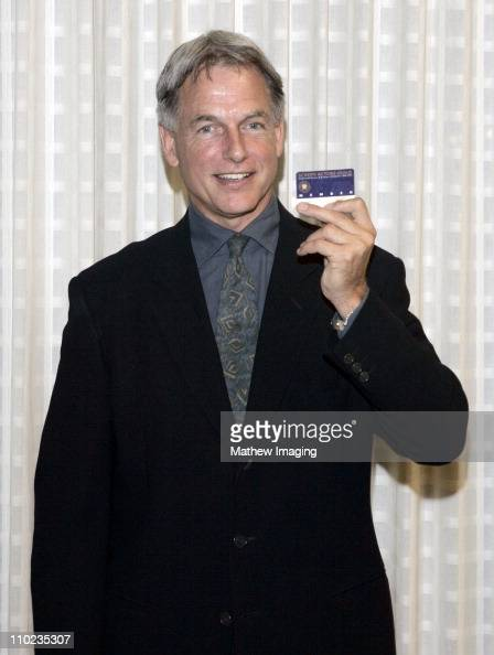 Mark Harmon proudly shows his SAG Card *exclusive*