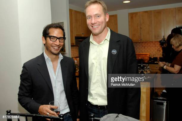 Mark Hernandez and Steve Olson attend OLDMAN'S BRAVE NEW WORLD OF WINE Book Launch Hosted by W W Norton and Mark Oldman at Residence of Mark Oldman...