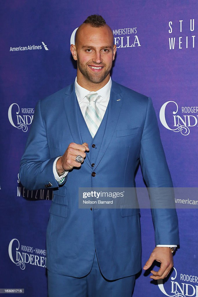 <a gi-track='captionPersonalityLinkClicked' href=/galleries/search?phrase=Mark+Herzlich&family=editorial&specificpeople=4036682 ng-click='$event.stopPropagation()'>Mark Herzlich</a> attends the 'Cinderella' Broadway Opening Night at Broadway Theatre on March 3, 2013 in New York City.