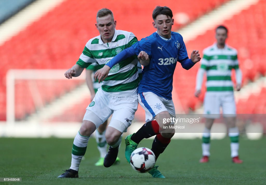 Celtic v Rangers - Scottish FA Youth Cup Final : News Photo