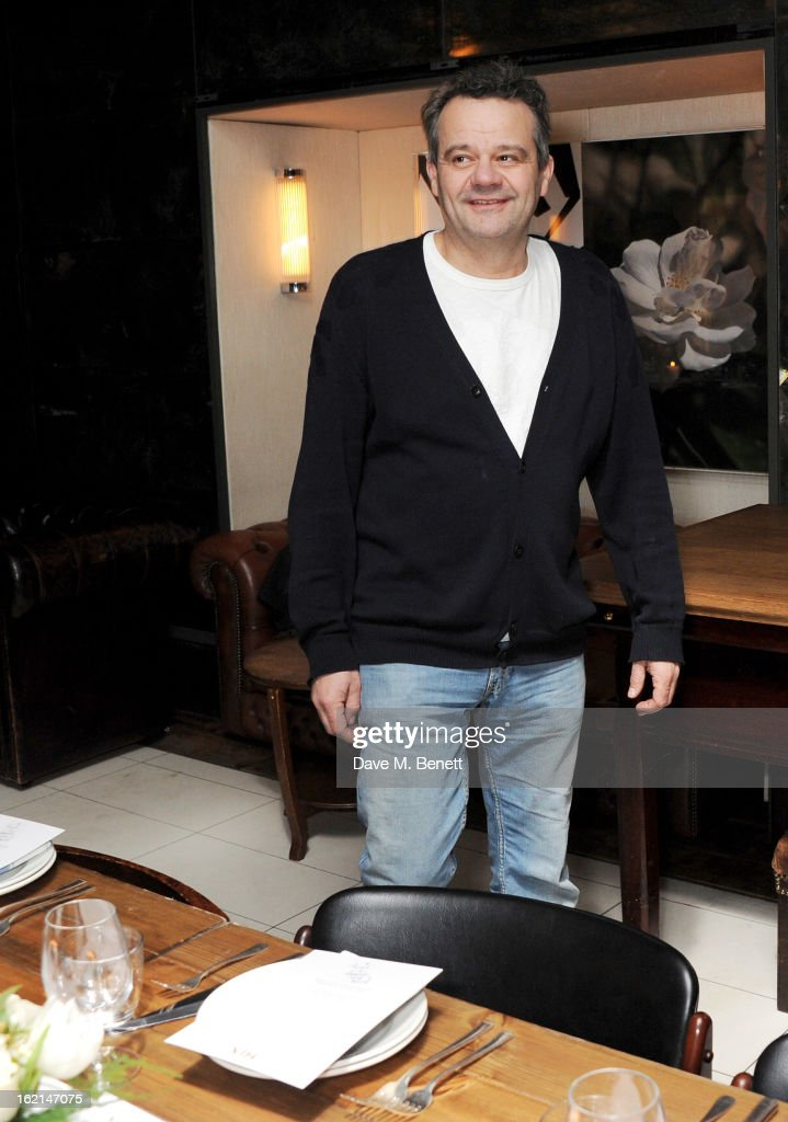 Mark Hix attends as Nick Grimshaw hosts his first annual award season dinner at Hix, in association with Philips Sound, on February 19, 2013 in London, England.