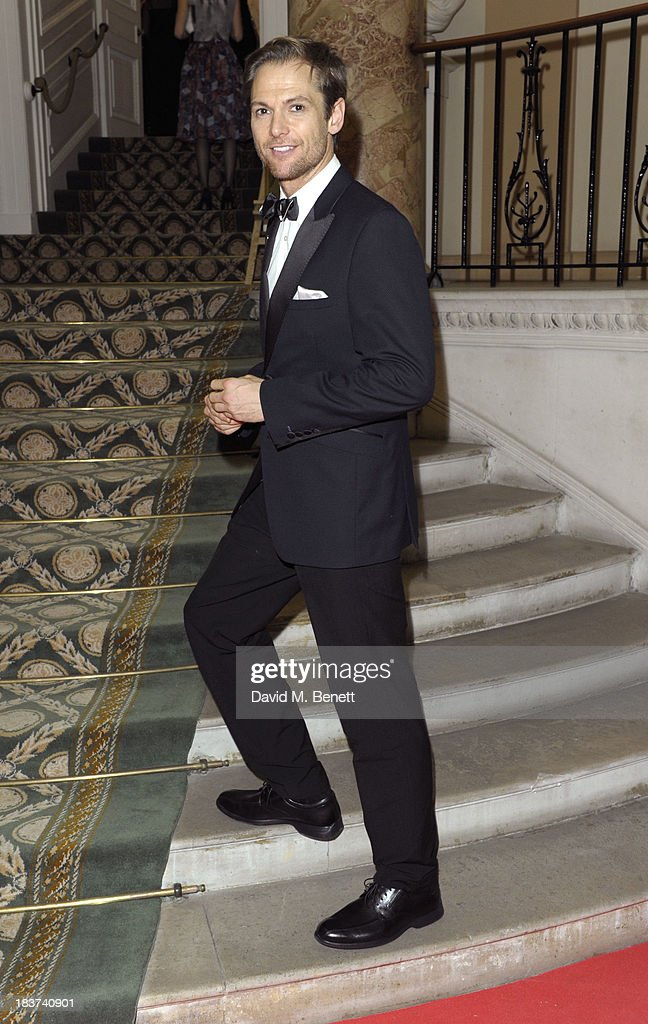Mark Hogarth arrives at the Scottish Fashion Invasion of London at the 8th Annual Scottish Fashion Awards 2013 at Dover House on October 9, 2013 in London, England.