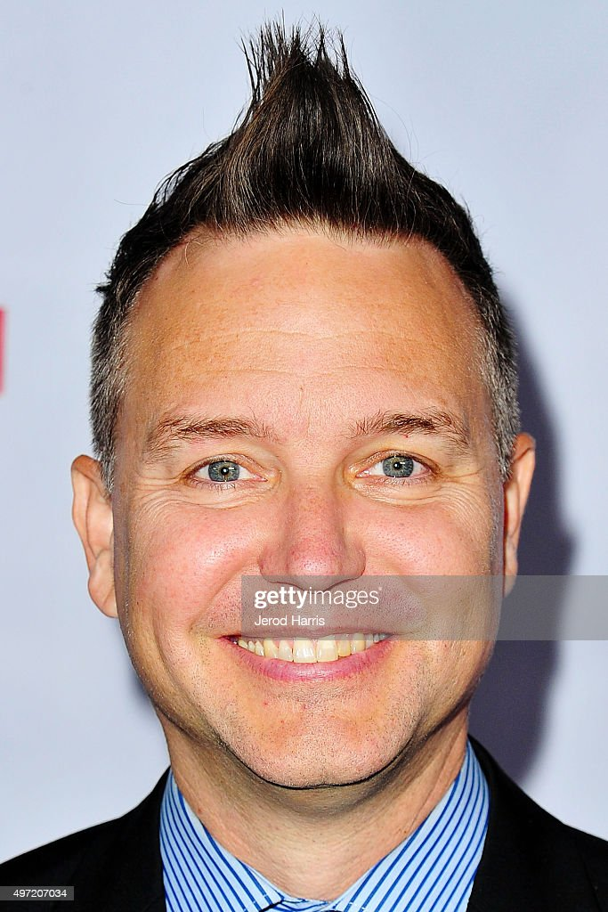 Mark Hoppus arrives at Music for Relief presents Relief Live at L.A. River Studios on November 14, 2015 in Los Angeles, California.