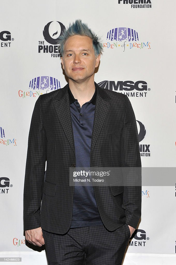 <a gi-track='captionPersonalityLinkClicked' href=/galleries/search?phrase=Mark+Hoppus&family=editorial&specificpeople=211529 ng-click='$event.stopPropagation()'>Mark Hoppus</a> attends the 2012 Garden of Dreams talent show at Radio City Music Hall on April 5, 2012 in New York City.