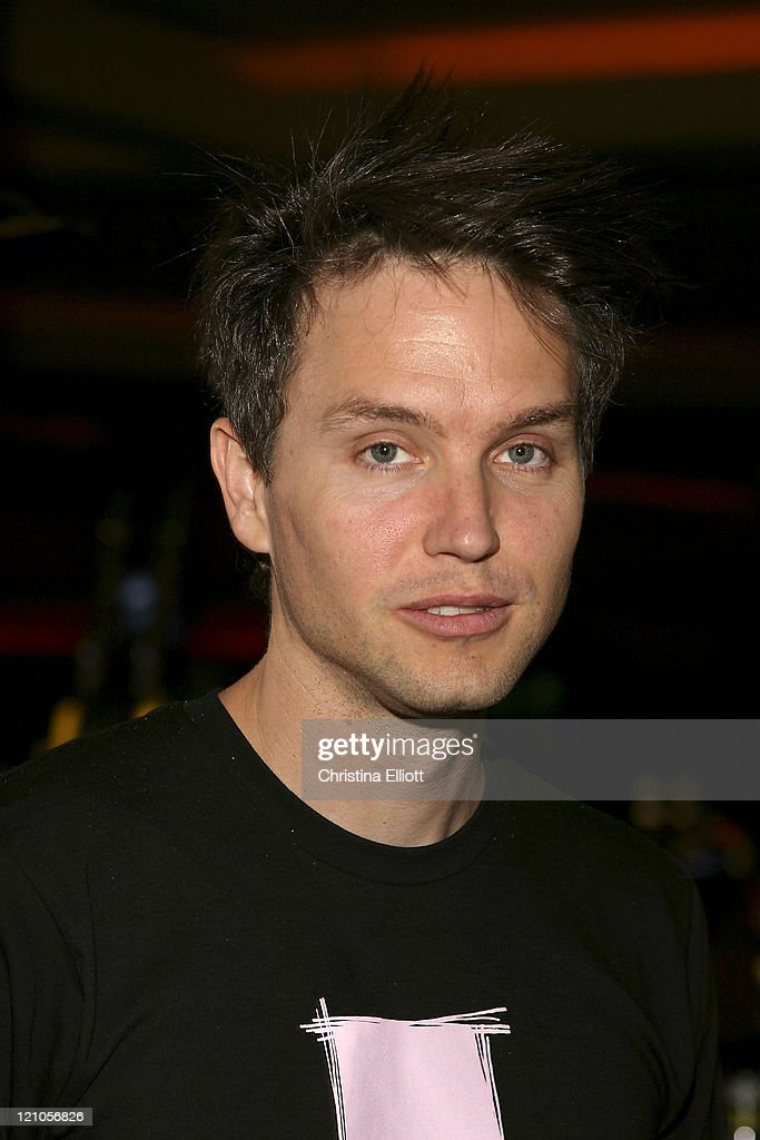 Mark Hoppus of Blink 182 during Blink 182 Display Unveiled at Hard Rock Hotel & Casino at Hard Rock Hotel and Casino in Las Vegas, Nevada, United States.