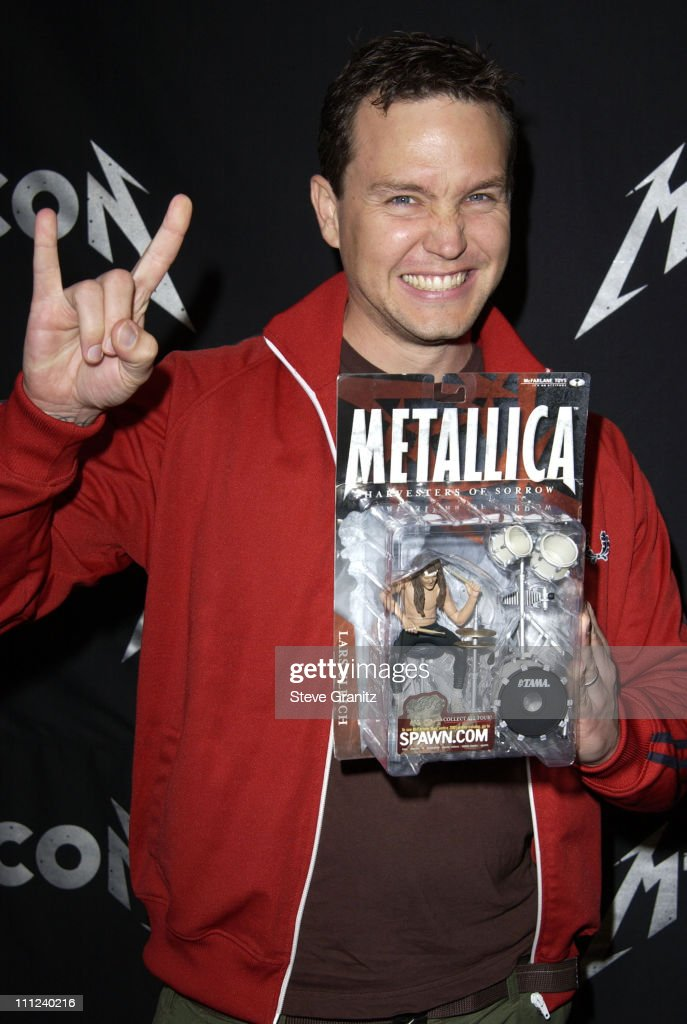 Metallica - Arrivals at Universal Studios Lot in Universal City, California, United States.
