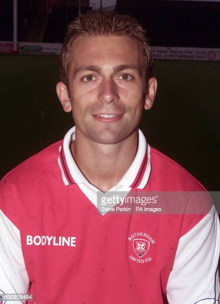 Mark Hudson of Rotherham utd2002/2003 SEASON THIS PICTURE CAN ONLY BE USED WITHIN THE CONTEXT OF AN EDITORIAL FEATURE NO UNOFFICIAL CLUB WEBSITE USE