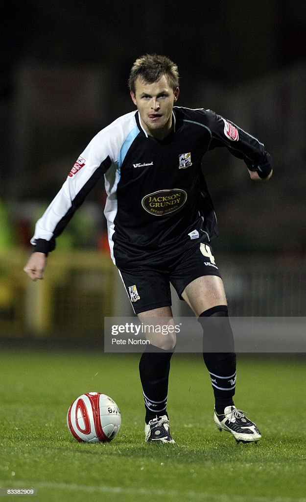Mark Hughes of Northampton Town in action during the Coca Cola League One Match between Swindon Town and Northampton Town at the County Ground on October 21, 2008 in Swindon, England.