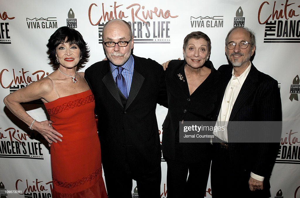 Mark Hummel, Chita Rivera, Graciela Daniele and Jules Fisher