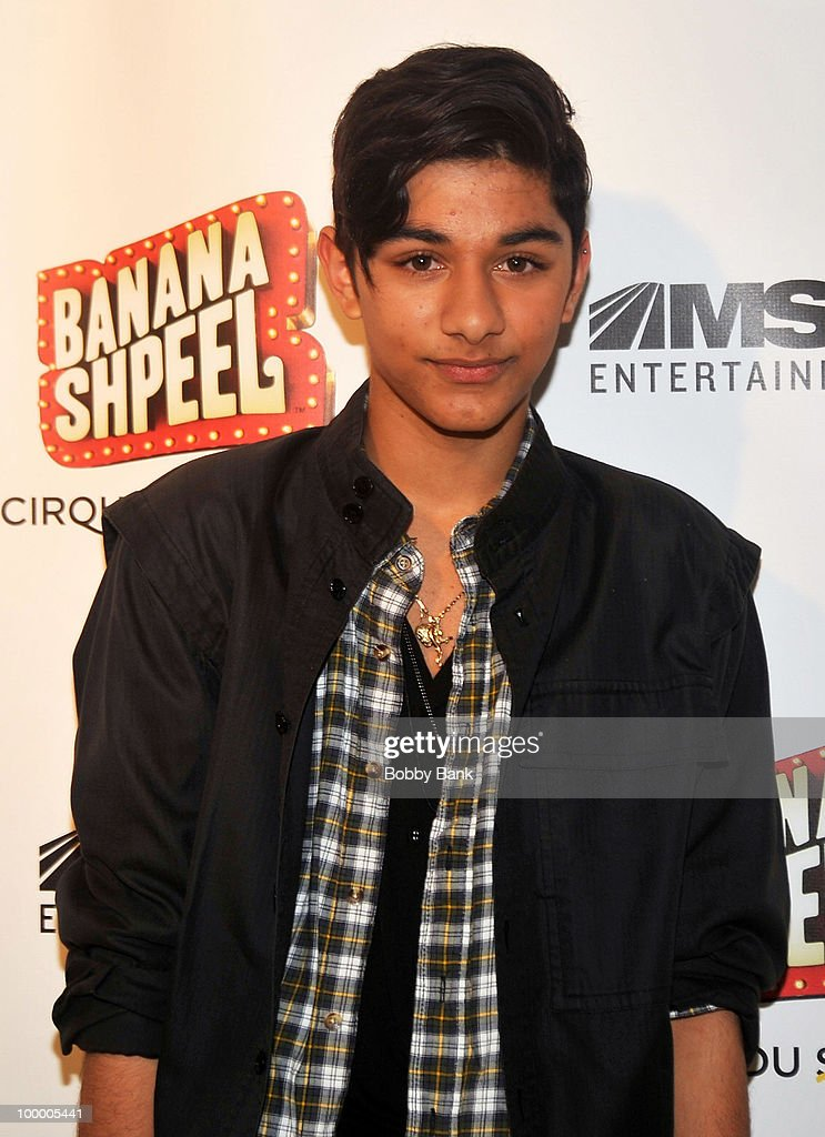 Mark Indelicato attends the opening night of Cirque du Soleil's 'Banana Shpeel' at the Beacon Theatre on May 19, 2010 in New York City.