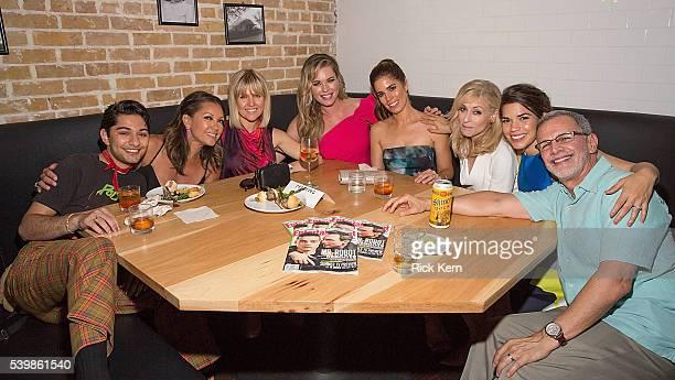 Mark Indelicato Vanessa Williams Ashley Jensen Rebecca Romijn Ana Ortiz Judith Light America Ferrera and Tony Plana attend the Ugly Betty Reunion...