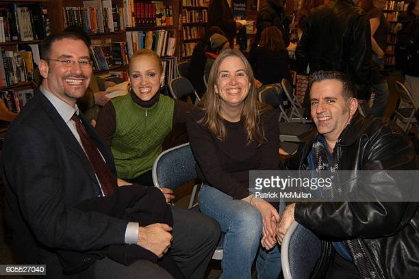 Mark Joffe Cari Modine Jenny Larkin and Mike Gaylord attend Matthew Modine Book Signing for FULL METAL JACKET DIARY at Barnes Noble Book Store on...